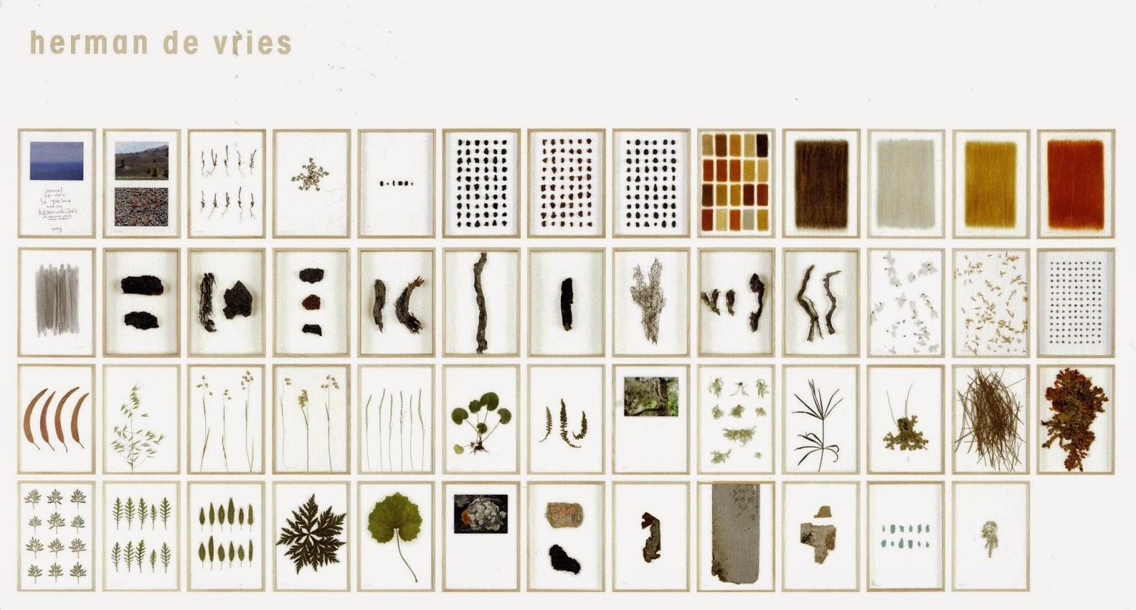 Stedelijk Museum Schiedam. Herman de Vries catalogus. (Stedelijk Museum Schiedam)