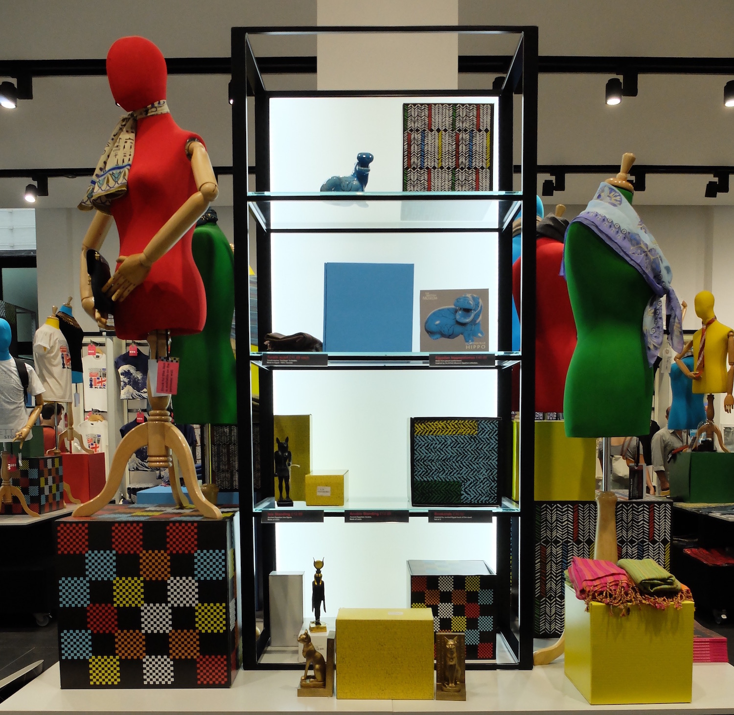 British Museum. Textile Room - Pop-Up Shop (2014)