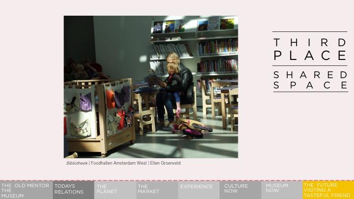 Museum as the Third Space. Presentatie Museum of the Future | Ellen Groenveld