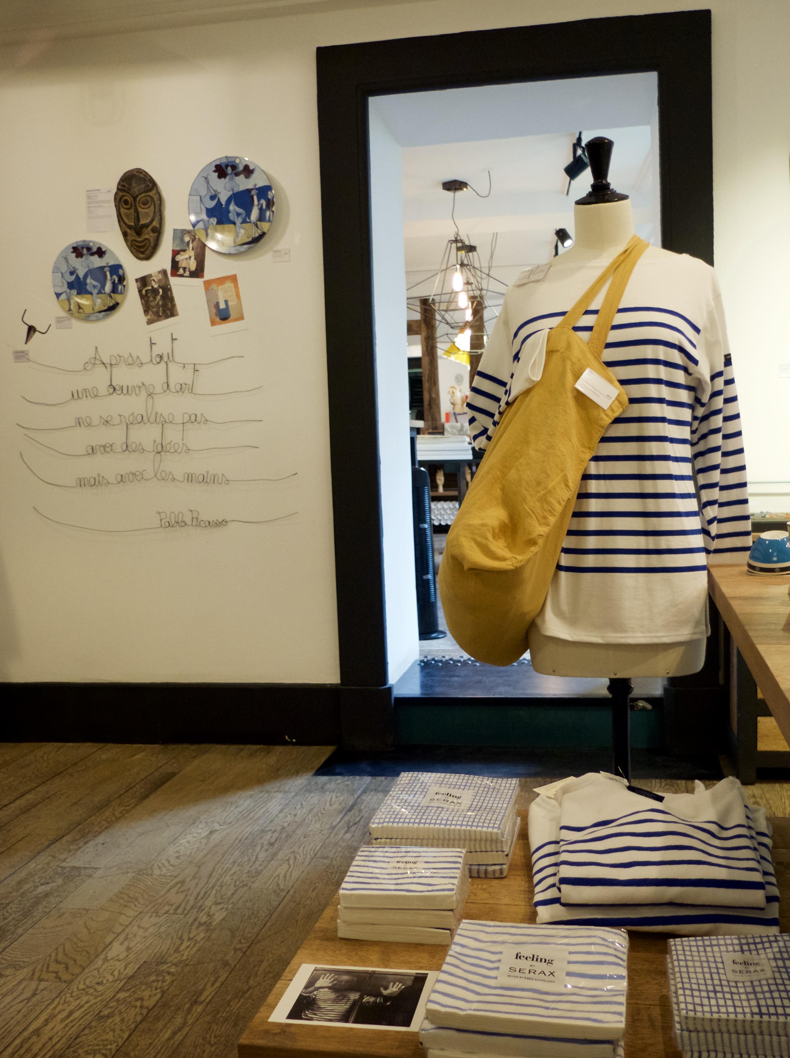 Is de Boutique Shop van Musée Picasso een museumwinkel?