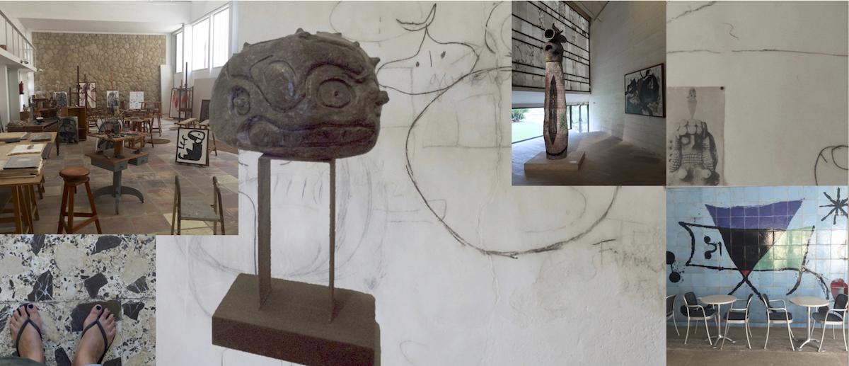 Inspiratie Joan Miró Studio. Mallorca. Foto: EG